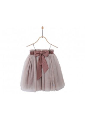 Donsje Apricot Cotton/Polyester Kim Skirt