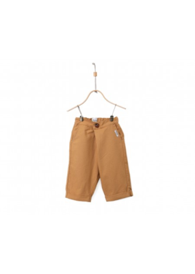 Donsje Mustard Linen Cotton Alex Trousers