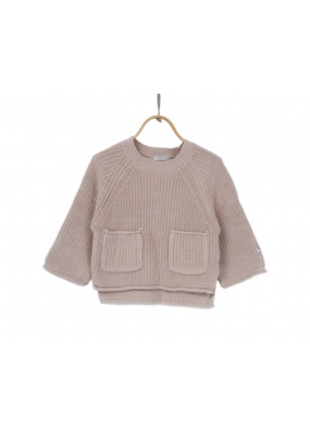 Donsje Soft Sand Cotton Stella Sweater