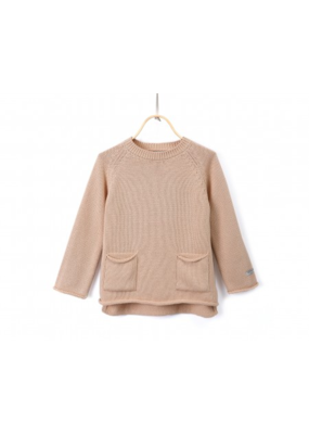 Donsje Pink Clay Cotton Stella Sweater