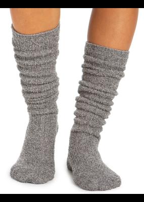 Barefoot Dreams BFD Socks- Dove Gray