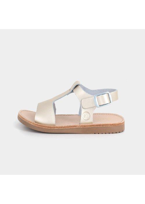 Freshly Picked Freshly Picked Platinum Malibu Sandal