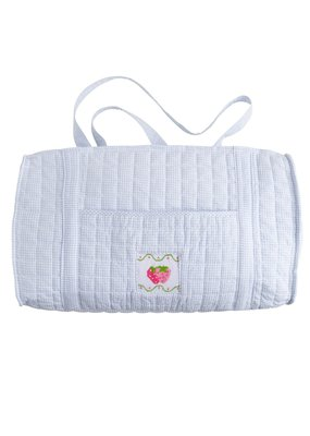 Little English Little English Quilted Luggage Duffle Strawberry