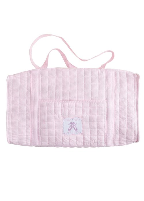 Little English Little English Quilted Luggage Duffle Ballet Slipper