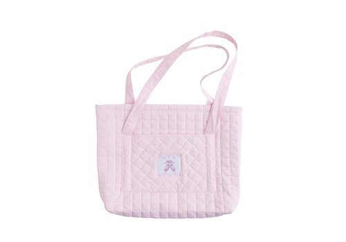 Little English Little English Quilted Luggage Tote Ballet Slipper