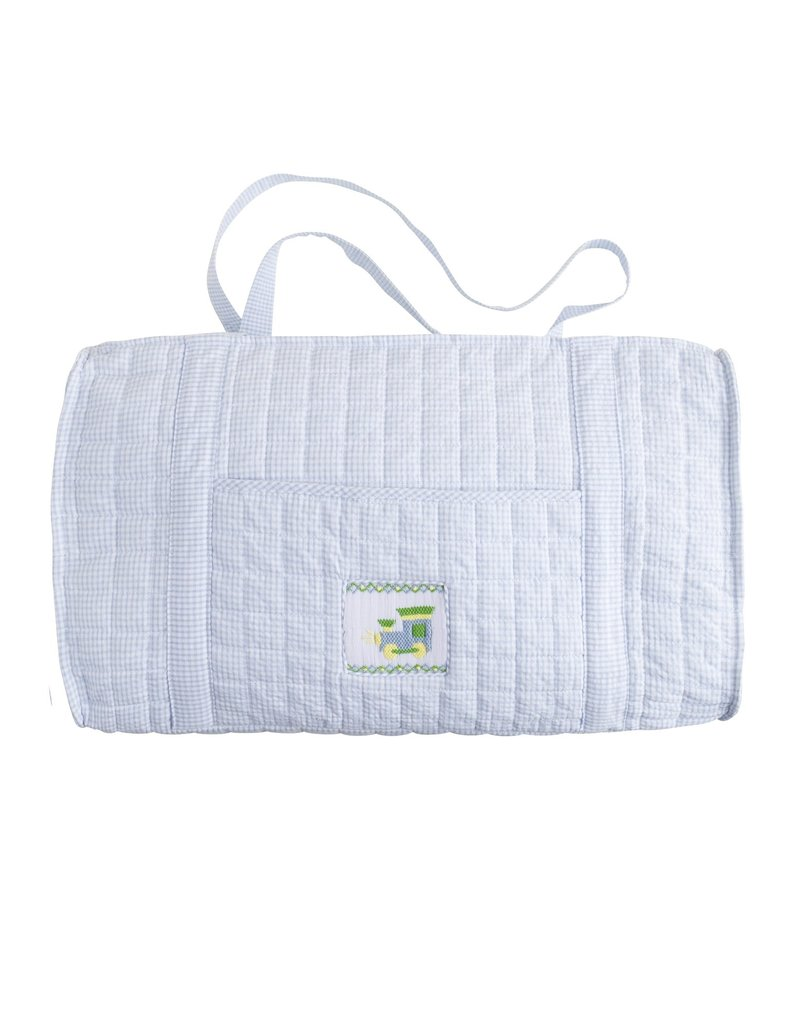 Little English Little English Quilted Luggage Duffle Train