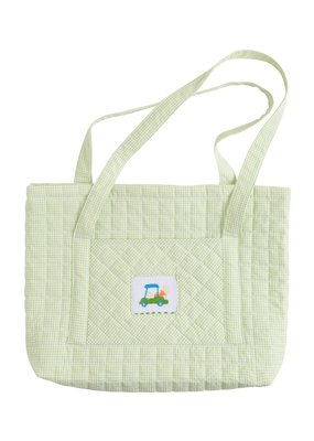 Little English Little English Quilted Luggage Tote Golf Cart