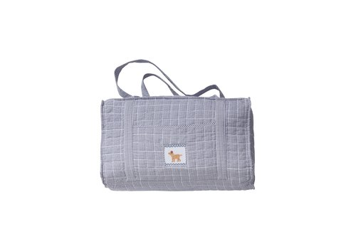 Little English Little English Quilted Luggage Duffle Dog