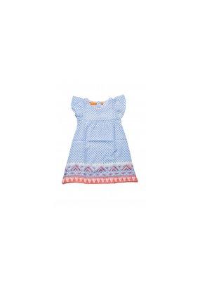 Oliphant Seuss Flirty Dress Blue