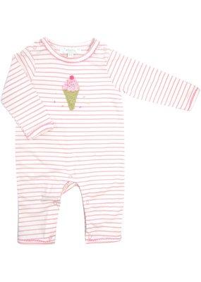 Albetta Albetta Pink Ice Cream Babygrow