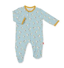 Magnetic Baby Blue Plovers Magnetic Footie