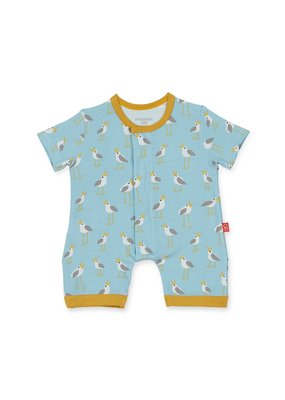 Magnetic Baby Blue Plovers Magnetic Romper