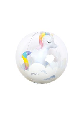 Sunny Life Unicorn 3d Beach Ball