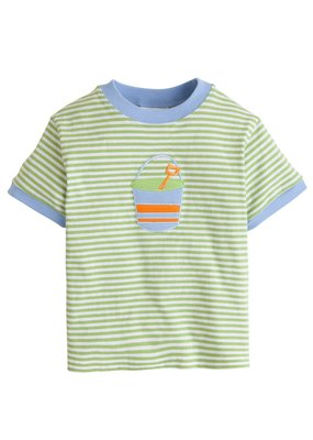 Little English Little English Sand Pail Applique T-Shirt