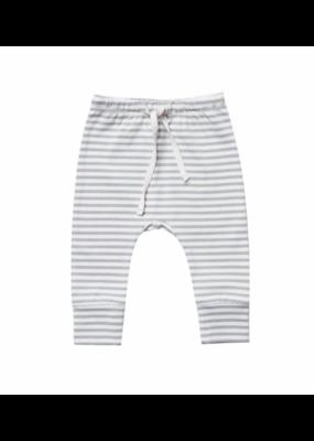 Quincy Mae Grey Striped Drawstring Pant