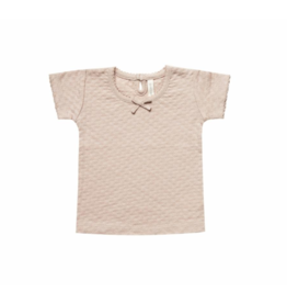 Quincy Mae Rose Pointelle Tee