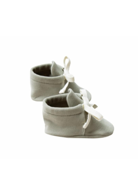 Quincy Mae Sage Baby Booties