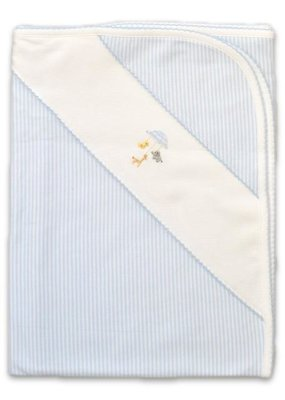 Baby Threads/Marco Lizzie Blue Baby Mobile Blanket