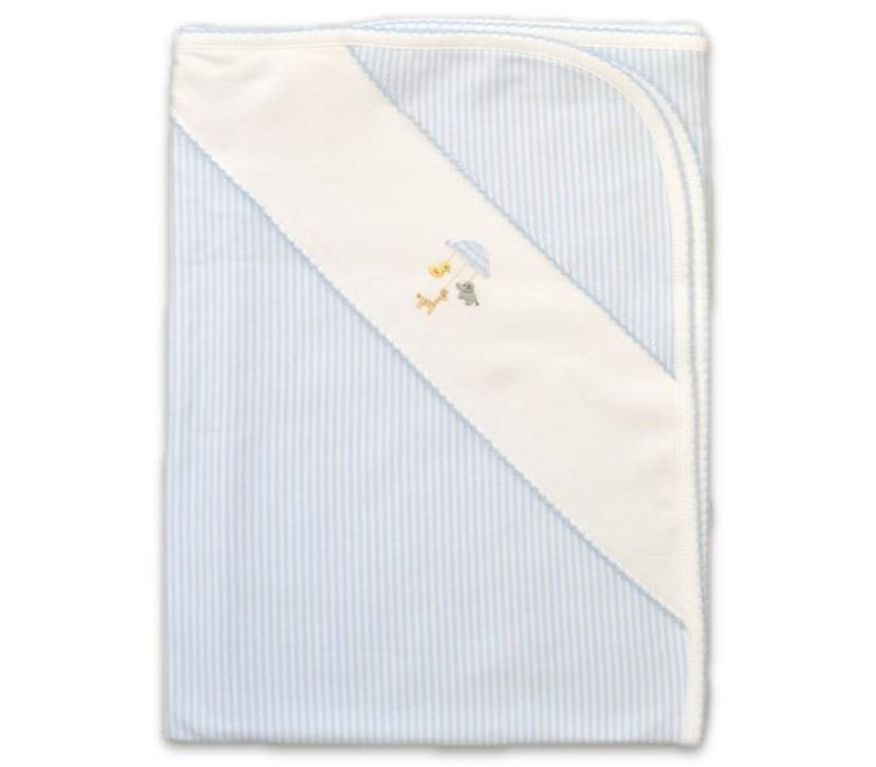 Blue Baby Mobile Blanket
