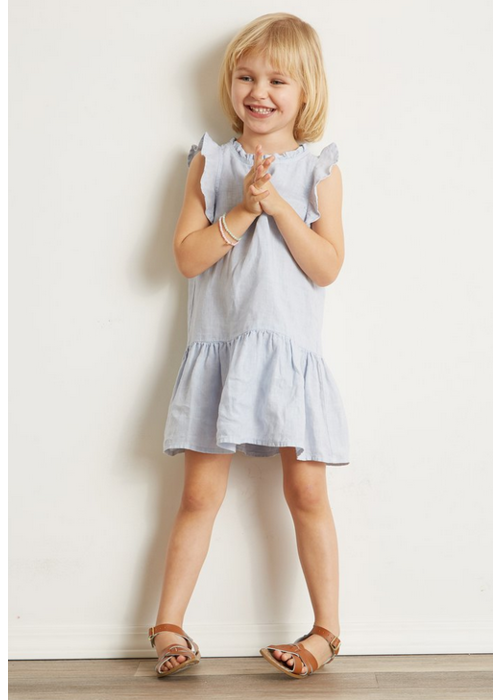 Bella Dahl Washed Linen Ruffle Dress
