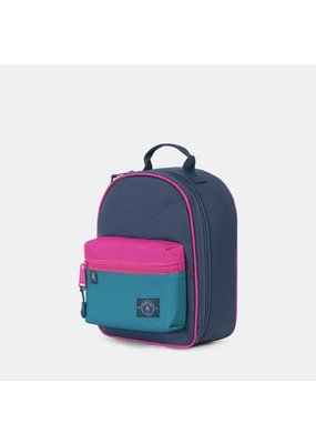 Parkland Rodeo Navy and Magenta Lunchbox