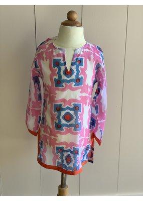 Oliphant Bombay Pink Kid's Tunic