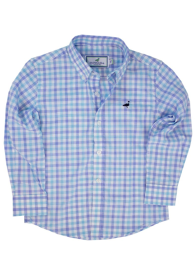 Properly Tied Santorini Teal Seasonal Sportshirt