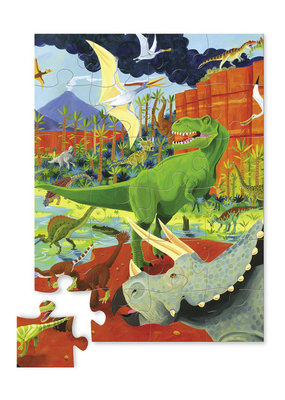 36 pc Puzzle Land of Dinosaurs