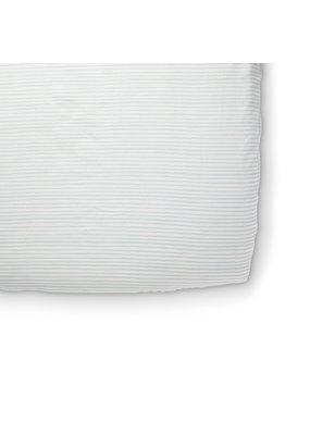 Pehr Stripes Away Sea Crib Sheet