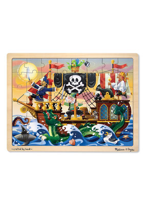 Melissa & Doug Pirate Adventure Jigsaw
