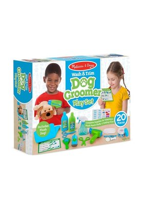 Melissa & Doug Wash & Trim Dog Grooming Set