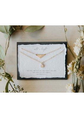 Dear Heart Designs Salt and Light Necklace