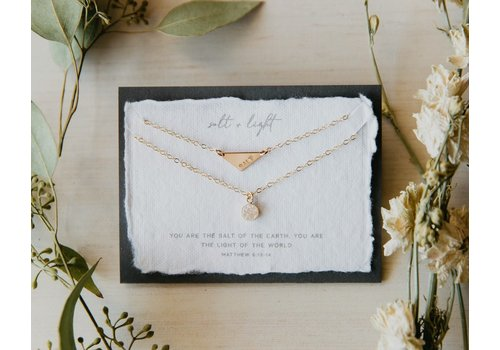 Dear Heart Designs Salt and Light Necklace