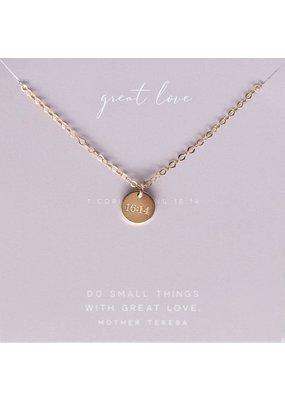Dear Heart Designs Great Love Necklace