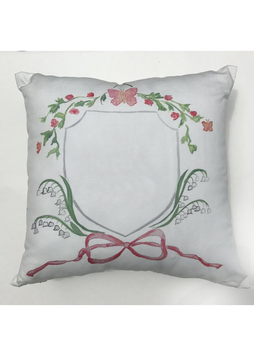 """Over the Moon 17"""" Butterfly Pillow"""