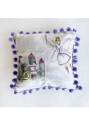"""Over the Moon 10"""" Tooth Fairy Pillow"""