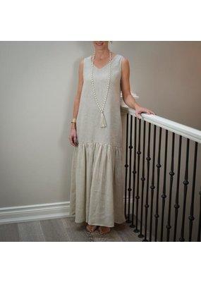 Crown Linen Eve Dress