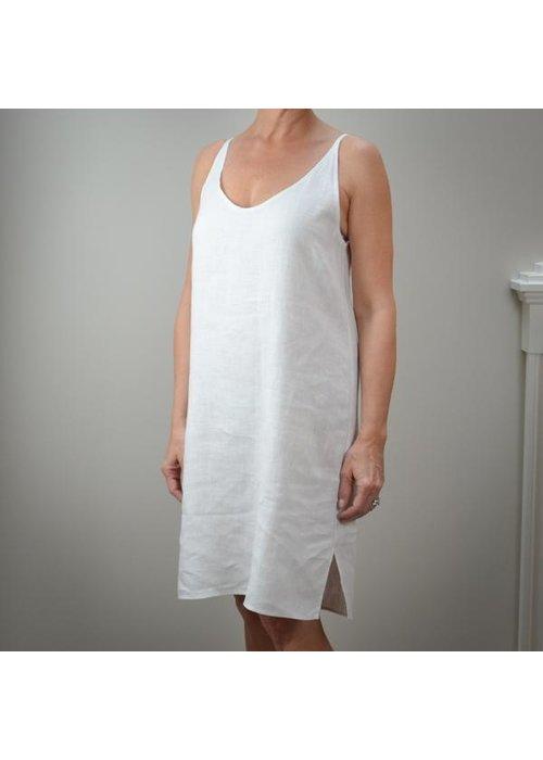 Crown Linen Celine Slip Gown
