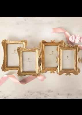 Gold Leaf Ornate Frame 4x6