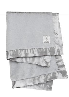 Little Giraffe Silver Luxe Blanket