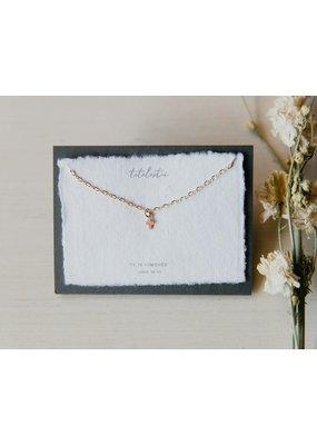 Dear Heart Designs Tetelestai necklace