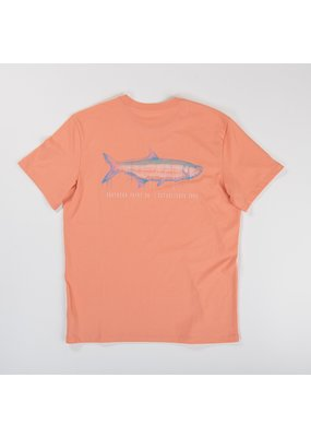 Southern Point Southern Point Faded Salmon Youth Signature Tee