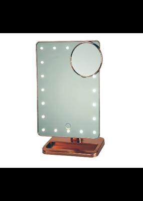 Vanity Bluetooth Mirror Rose Gold