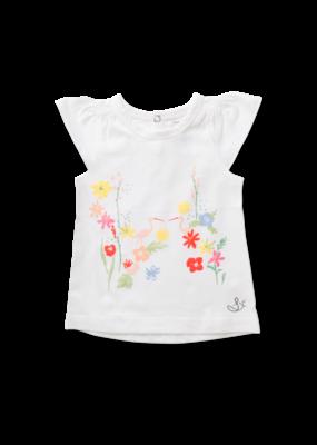 Sapling Sapling Floral Flutter Sleeve Tee Set