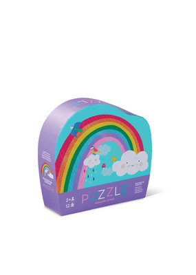 12 Piece Mini Puzzle Rainbow