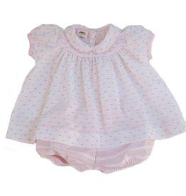 La Petite Fleur Clothier Sweet Pea Molly Bloomer Set