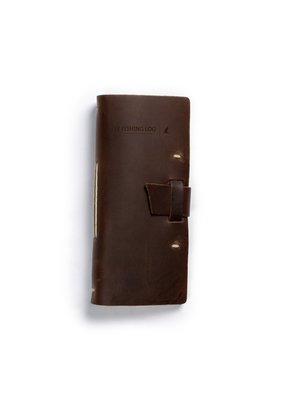 Rustico Fly Fishing Log- Dark Brown