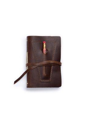 Rustico Dark Brown Golf Log with Pocket