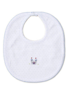 Kissy Kissy Kissy Kissy Embroidered Knights Bib