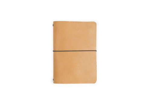 Rustico Expedition Point Five Leather Notebook (Buckskin)